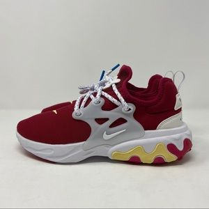 Nike React Presto Shoes Noble Red women's running